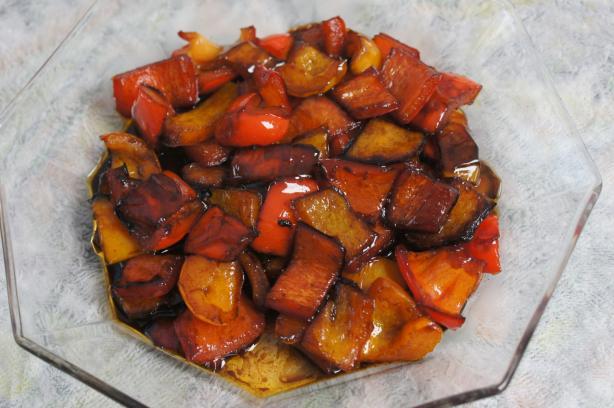 Peppers in Balsamic Vinegar