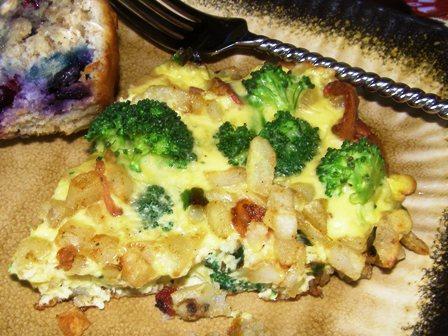 Potato and Bacon Frittata