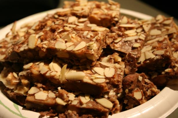 Almond - Pecan Bark