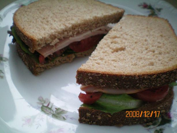 Lunch Meat Sandwich Menu (Lite-Bleu)