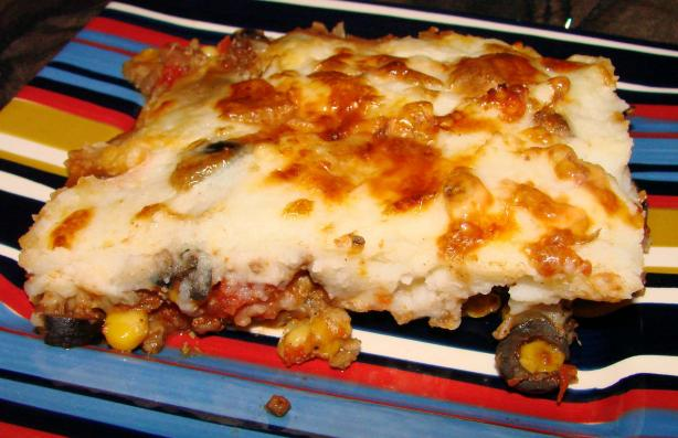 Spicy Shepherd's Pie