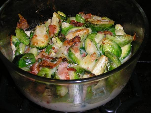 Gratin of Brussels Sprouts
