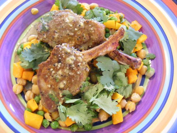 Spiced Lamb With Coriander Pumpkin (21 Day Wonder Diet: Day 1 )