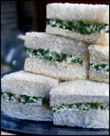 Chicken-Cucumber Party Sandwiches