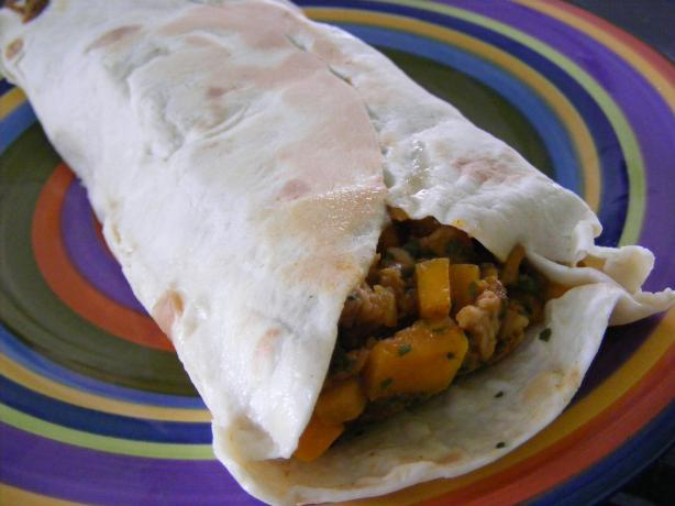 Chicken & Pumpkin Tortilla (21 Day Wonder Diet: Day 21)