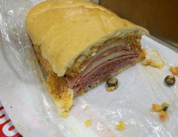 Easy Spicy Muffuletta