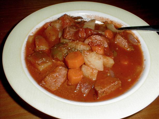 Mae's Sausage Supreme Stew
