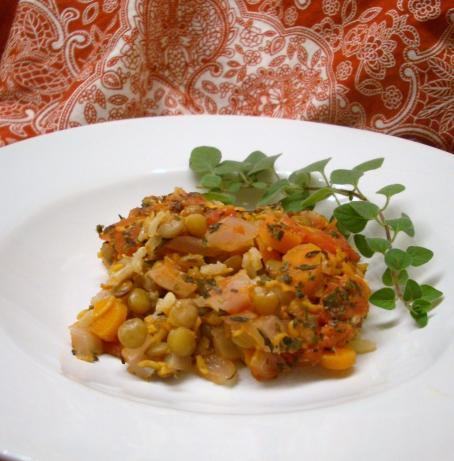 Carrot Lentil Casserole