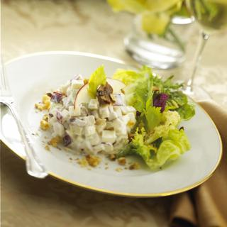 Waldorf Salad With Fresh Goat Cheese
