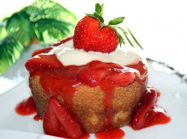 Red Ruby Strawberry Sauce