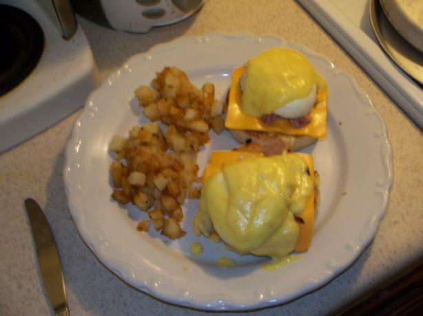 Eggs Benedict. Quick and Delicious.