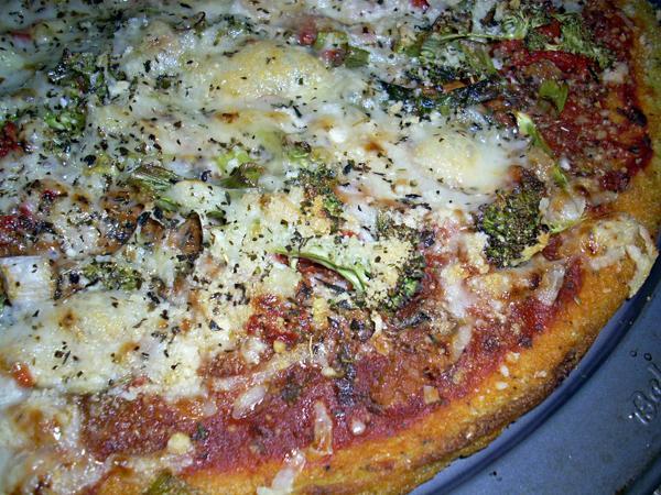 Chef Joey's Polenta Crust Pizza