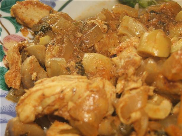 Chicken in a Cashew Nut Sauce