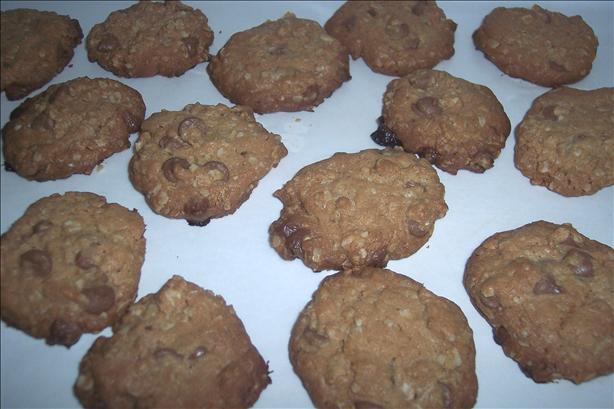 Grandma D's Chocolate Chip Oatmeal Cookies