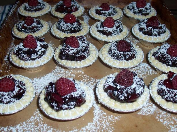 Walnut Berry Tarts