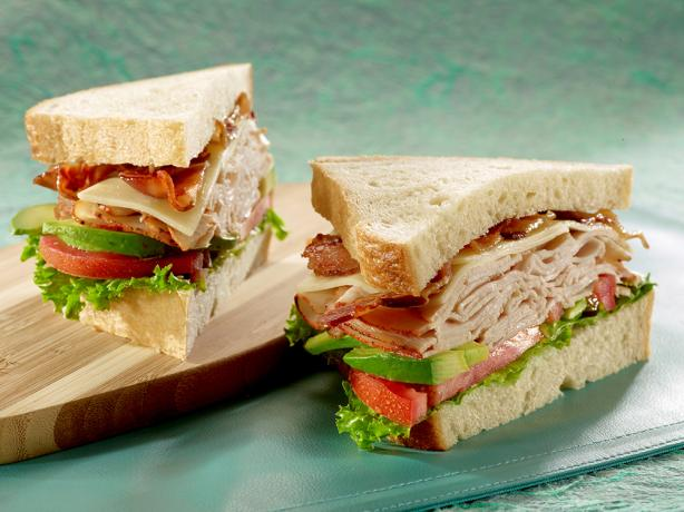 Ovengold® Turkey Avocado Sandwich With Bacon