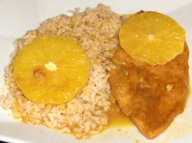 Mom's Orange Curry Chicken