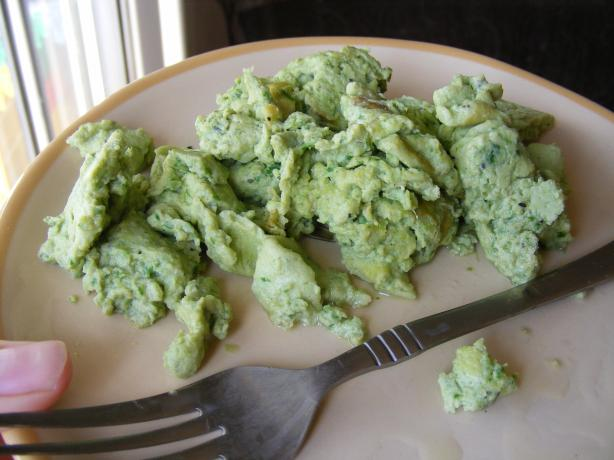 """green Eggs"" Kid-Friendly & High in Iron"