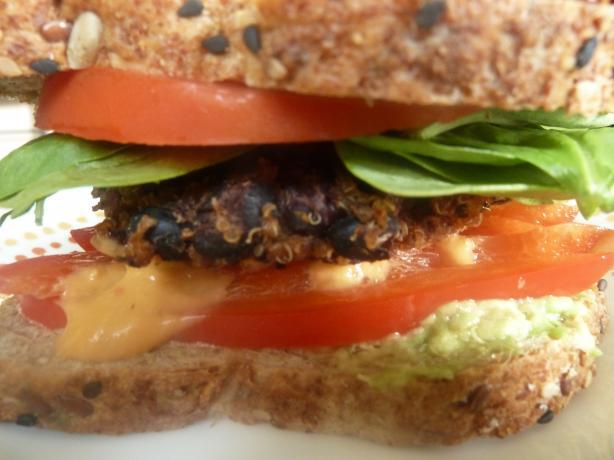 Black Bean-Quinoa Burgers