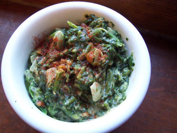 African Spinach and Groundnut Stew (Aka Peanut, Kenya/Tanzania)