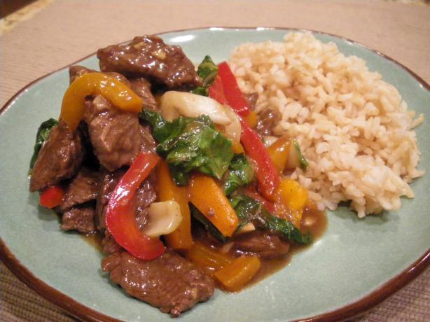 Sesame Beef Stir-fry