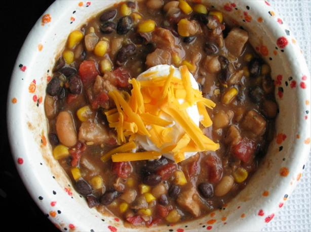 Pork Mixed Bean Chili