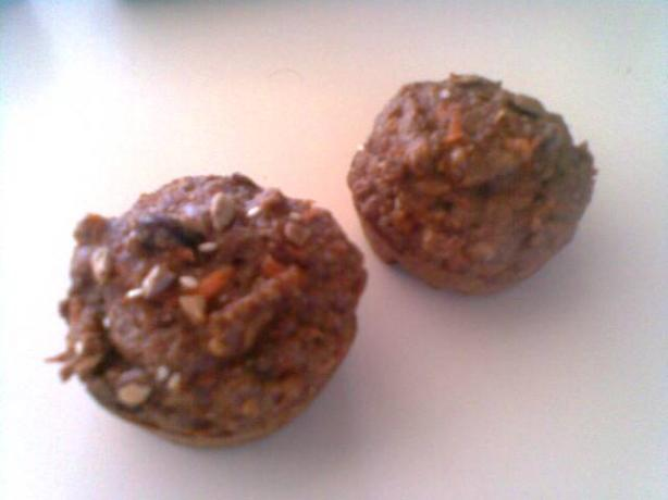 Carrot Cake Muffins, Get Tasting & Low-Fat