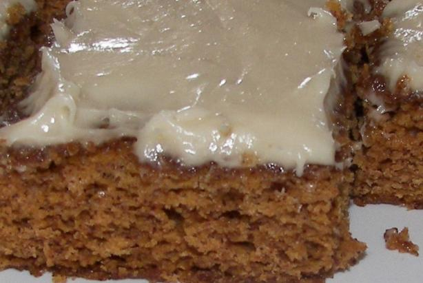 Carrot Bars W/ Cream Cheese Frosting