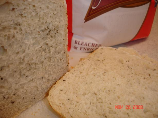 Herbed Bread (Bread Machine)