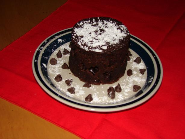 Chocolate Cake in a Cup- Gluten Free Style