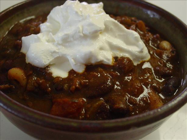 Turkey Chili With White Beans