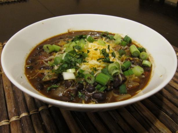 Lafd Engine Co. No. 28's Vegetarian Black Bean Chili