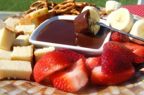 Godiva Chocolate Fondue