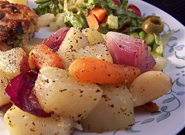 Oven Roasted Herbed Vegetables