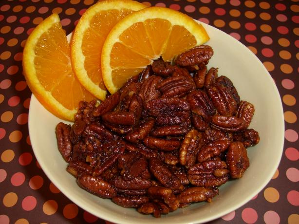 Cocktail Orange Pecans