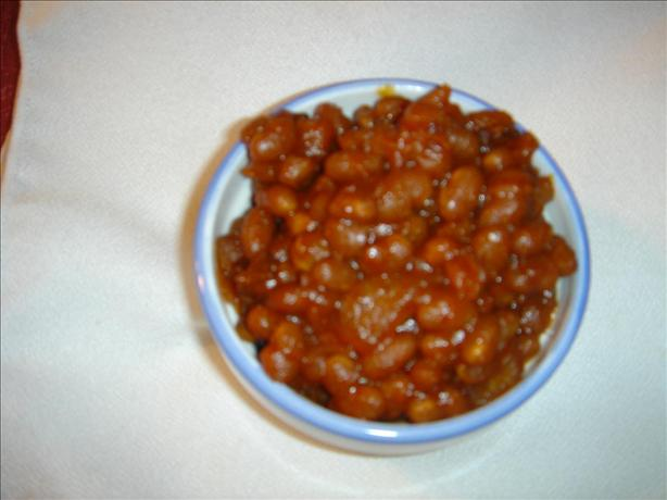 Homemade Baked Beans (In the Crock Pot)
