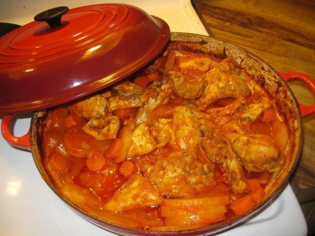 Barefoot Contessa Chicken Bouillabaisse