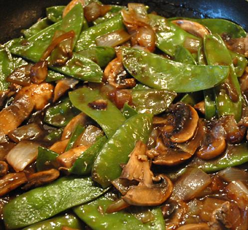 Snow Pea Stir-Fry
