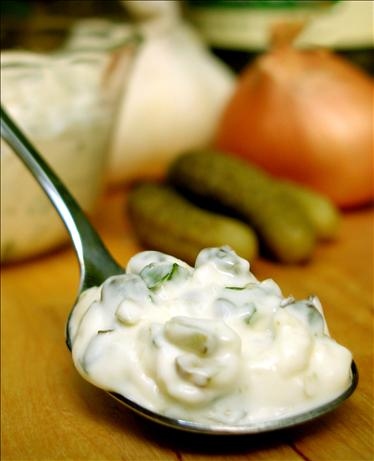 Fabulous, Nearly Fat-Free Tartar Sauce