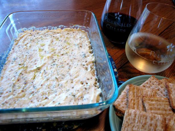 Baked Ricotta With Lemon, Garlic, & Chives