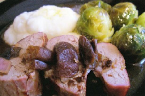 Prune-Stuffed Pork Roast