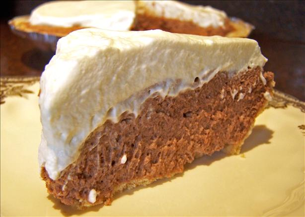 Easy Chocolate Cheese Pie