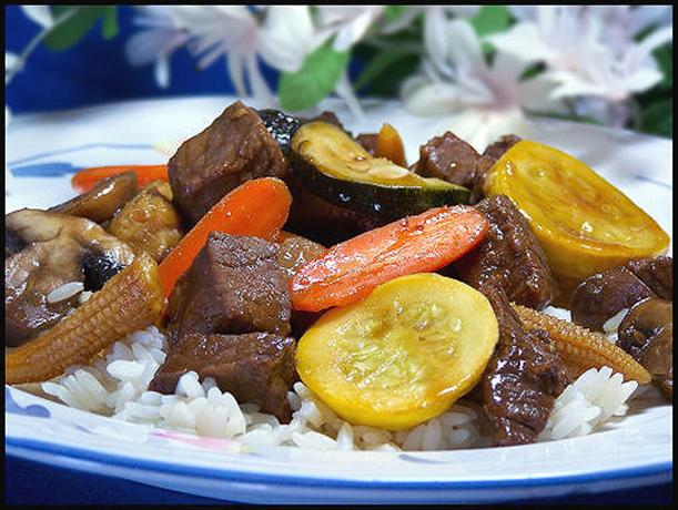 Beef or Chicken Teriyaki Stir-Fry