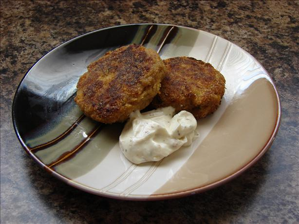 Sweet Corn Crab Cakes