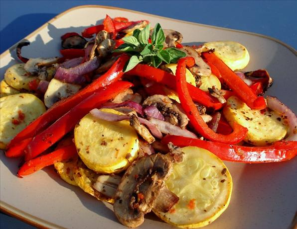 Mediterranean Grilled Vegetables