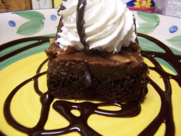 Chocolate Toffee Ooey Gooey Butter Cake