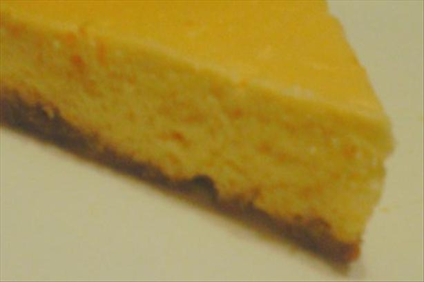 Crock Pot Creamy Orange Cheesecake