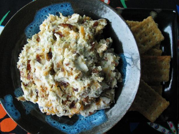 Zesty/Peppery/Sweet-Blue Cheese and Date Spread -- or Balls!