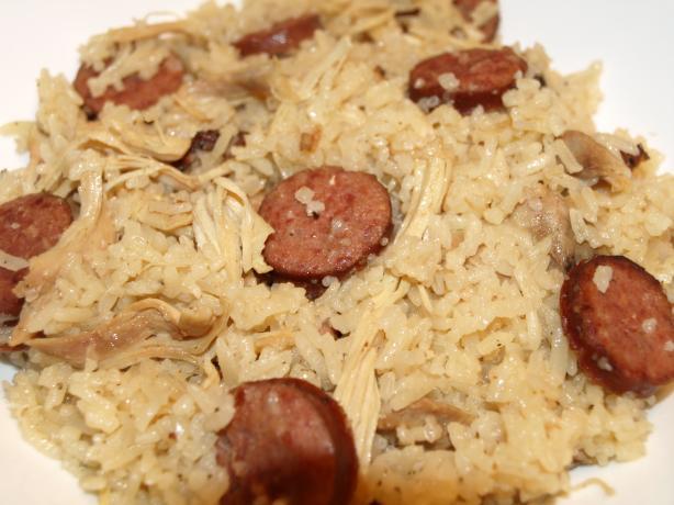 Rice Cooker Chicken Bog