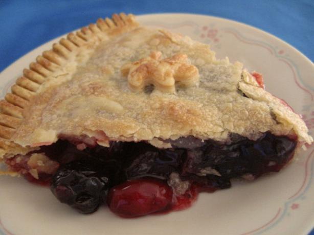 Sweet Glazed Cherry Pie